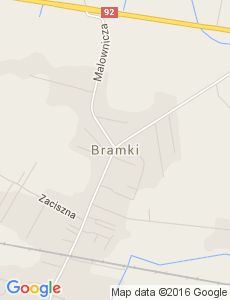 Google Map of Bramki